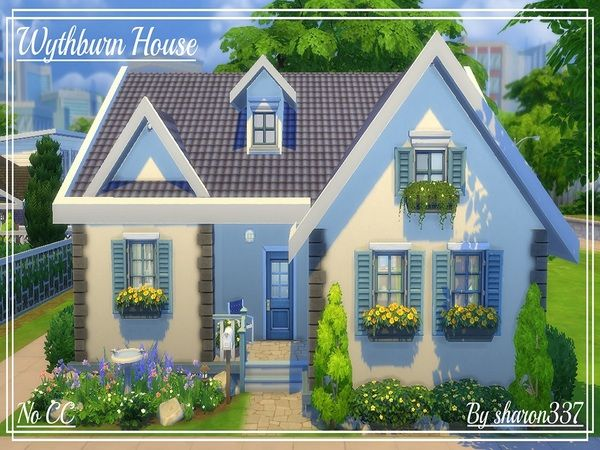 Wythburn House By Sharon337 At TSR Via Sims 4 Updates