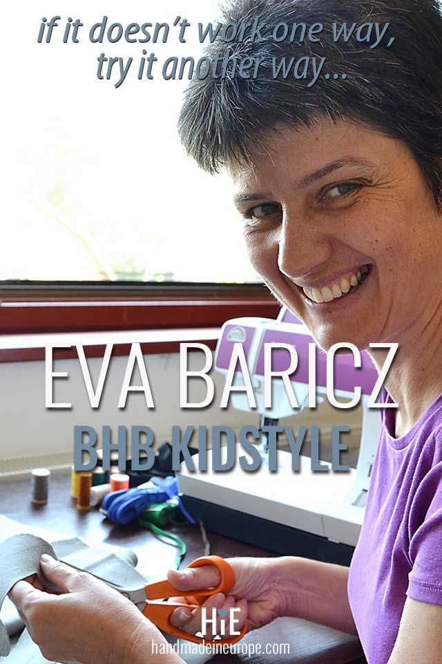 Eva Baricz, BHB Kidstyle | Handmade in Europe