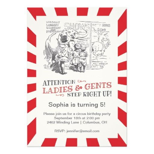 Best Vintage Birthday Party Invitations Images On
