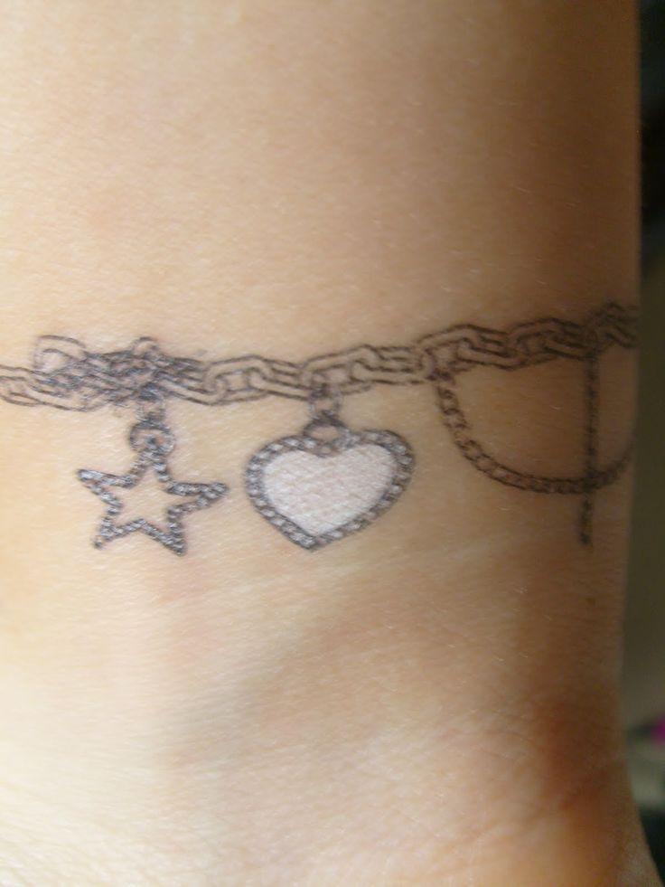 charm bracelet tattoo - Google Search
