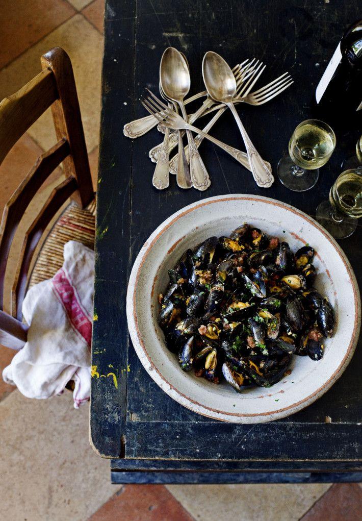 Plenty of mussels