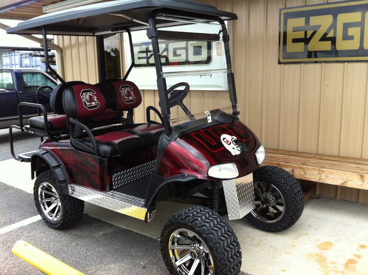 Gamecock E Z Go Rxv 48 Volt Golf Cart With New Batteries