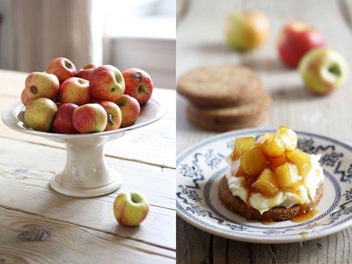Apple pie e mele rosse, dalla cucina di FRAGOLE A MERENDA