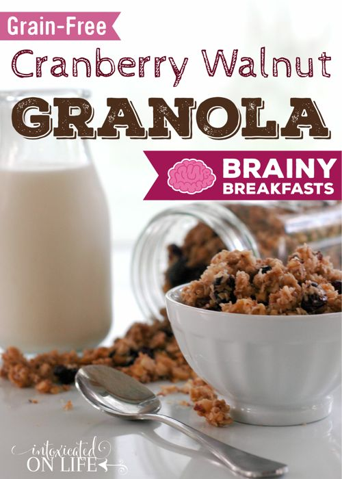 This recipe of Grain Free Cranberry Walnut Cereal is worth a try and ...