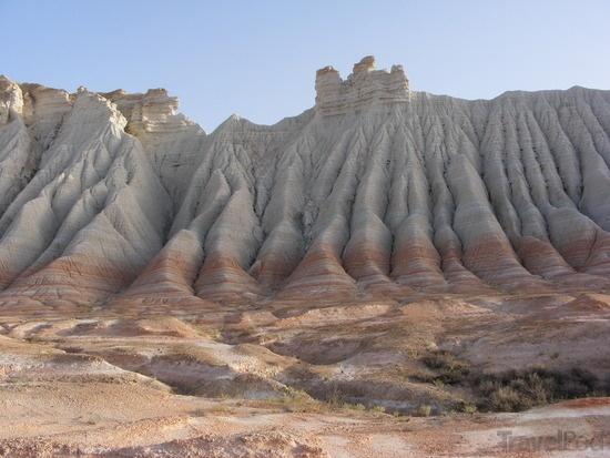 Yangykala Canyon in Turkmenistan