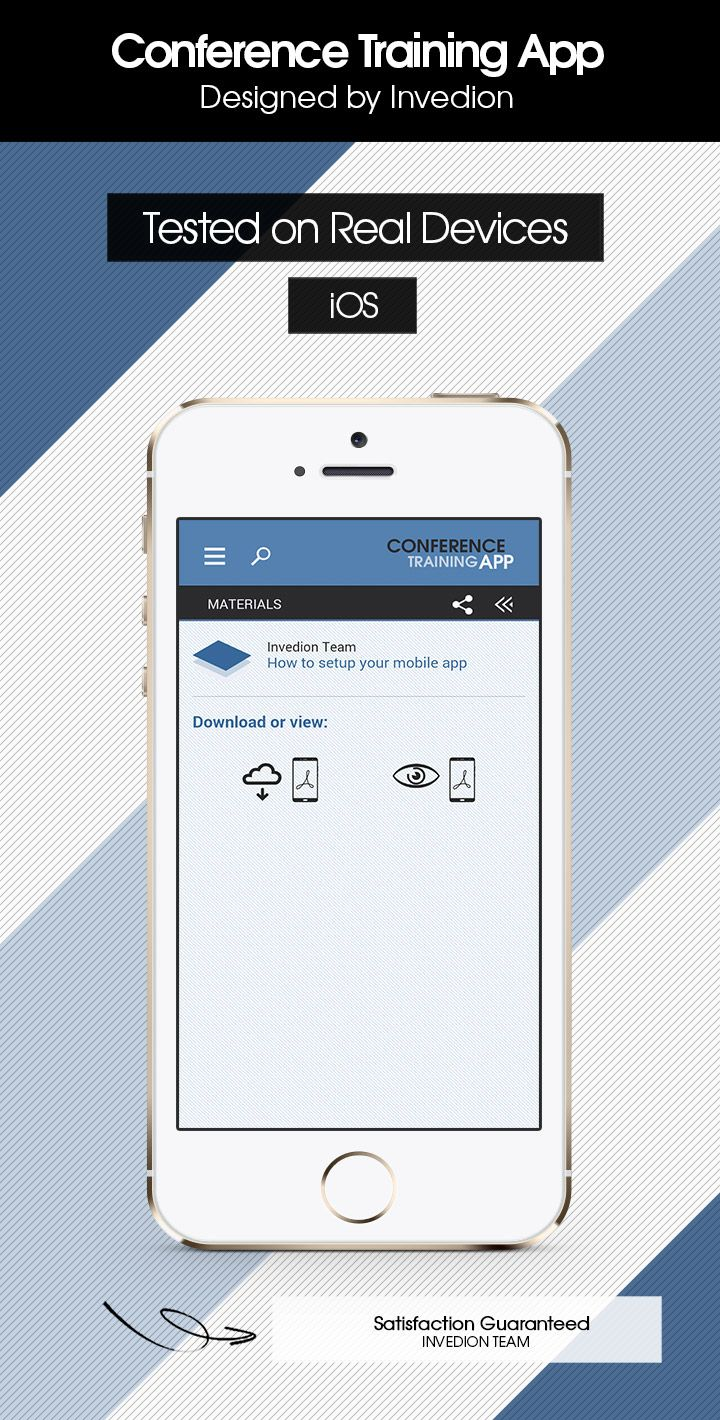 Conference Training App With Cms Ios 2021 Edition App App Design Notification App