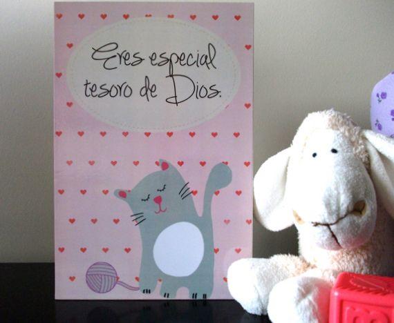 Cuadros para decorar la habitación del bebé