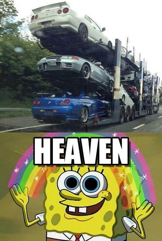 Heaven for car guys