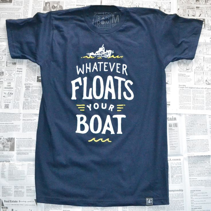 Whatever Floats Your Boat // Random Objects