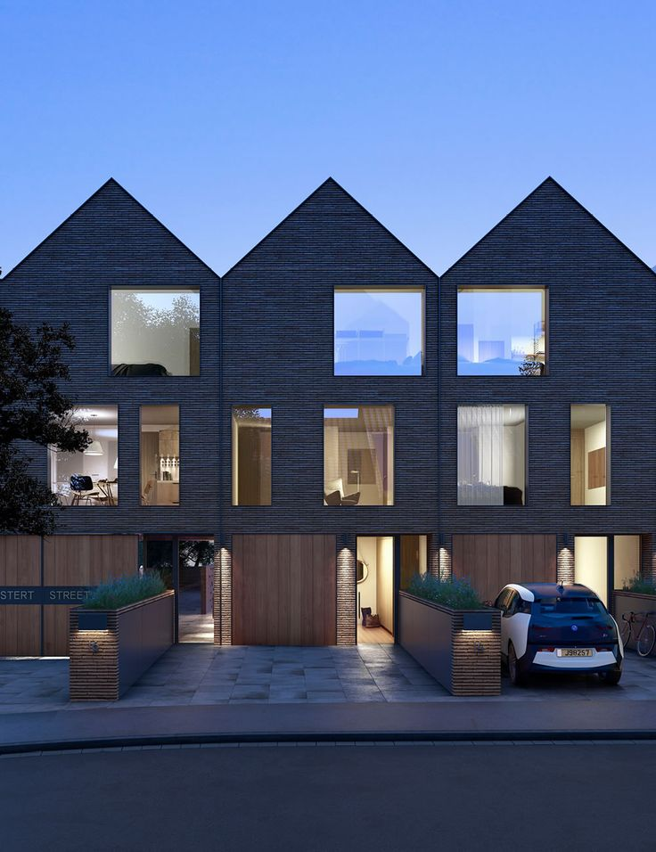 Best 25 modern townhouse ideas on pinterest london for Residential architecture design