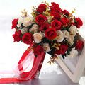 En Stock Élégant En Cristal Perlé Rouge Bouquet De Mariage Rose Fleurs Perle Main Bouquets De Mariée dans Bouquets de mariage de Mariages et Événements sur AliExpress.com | Alibaba Group