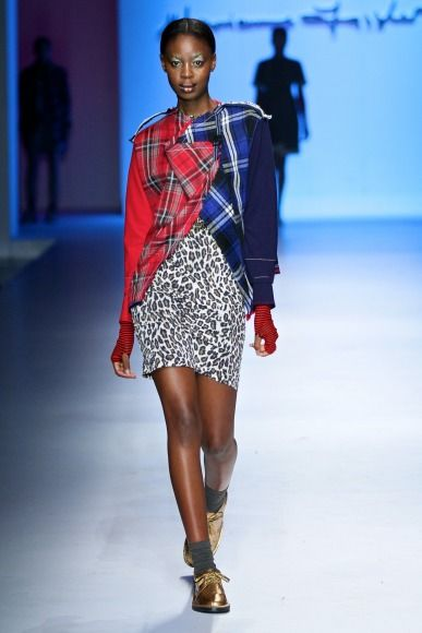 Marianne Fassler's collection at Mercedes-Benz Fashion Week Joburg 2014. Image by SDR Photo #MBFWJ