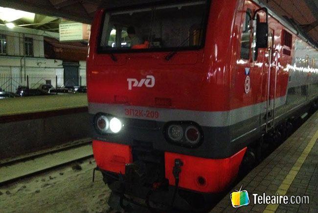 Tren nocturno de Saint Petersburgo a Moscú