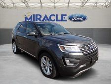 New 2017 Ford Explorer Limited Gray SUV