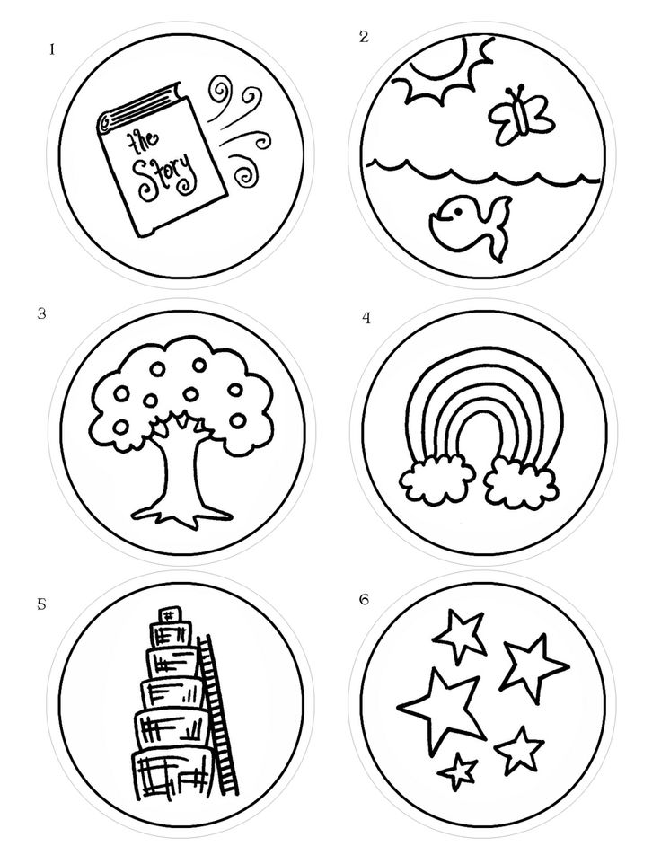 jesse tree coloring pages - photo#13