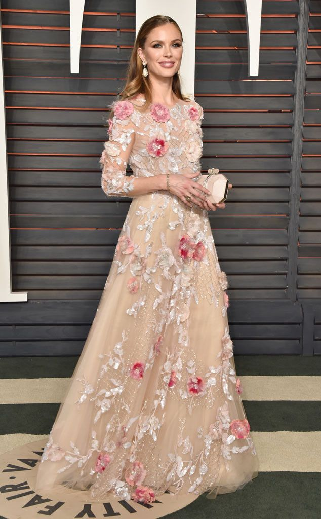 Georgina Chapman from Vanity Fair Oscars Party 2016: What the Stars Wore | E! Online