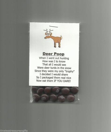 New Homemade Deer Poop Chocolate Candy Novelty Gag Gift Hunting Joke Prank #Homemade