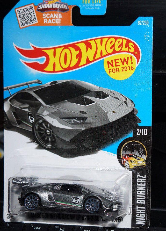 Hot Wheels Lamborghini Huracan LP 620-2 Super Trofeo HW Exotics 1//10 1:64 2018
