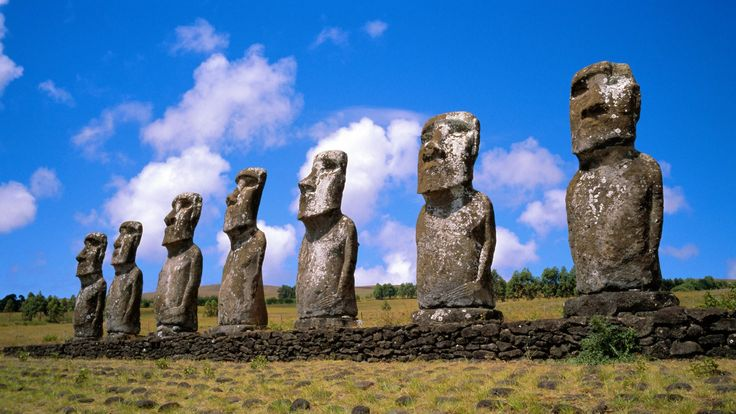 Isla de pascua- Easter Island.
