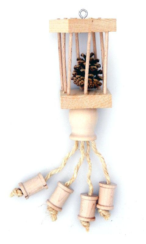 Handgemaakte speelgoed voor konijnen en cavias. Dit product is gemaakt van veilige/niet giftige materialen waardoor het volkomen veilig is om te geven aan uw konijn/cavia