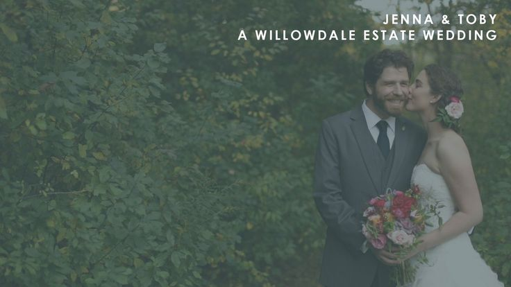 When the French teacher met the game designer | Jenna and Toby's Willowdale Estate Wedding Trailer by Long Haul Films. Once upon a time, in ...
