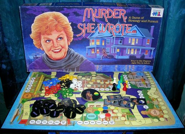 """Murder, She Wrote"" OMG! the possibilities are endless"
