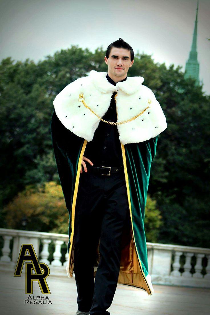 King's Royal Cloak (Green) | King's Royal Robes | Cloak ...