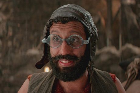 Smee from Pan the Movie, Nigel wants to be Smee for Halloween....Adeel Akhtar Smee