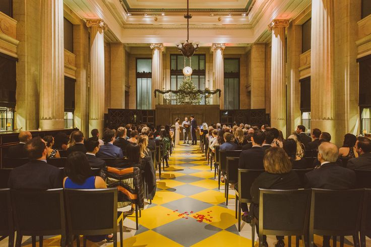 On New Years Eve The Banking Hall Hosted A Spectacular Wedding The Luxurious Venue Based In