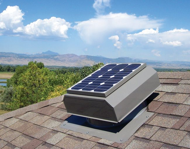 Solar Attic Fans Are Great For Moving Hot Air Out Of Your