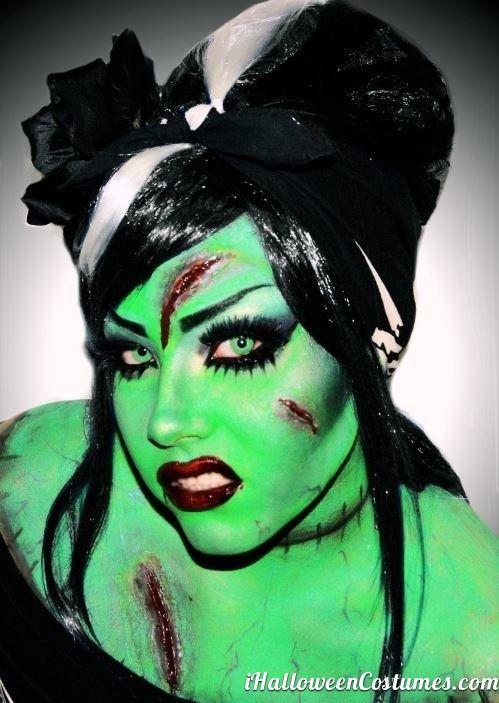 Spirit halloween contest...boo!!!:)(veronica d) zombie makeup for Halloween  Halloween Costumes 2013