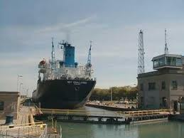 loved watching the boats come through the lock in Port Colborne ~ nice way to spend a Sunday evening