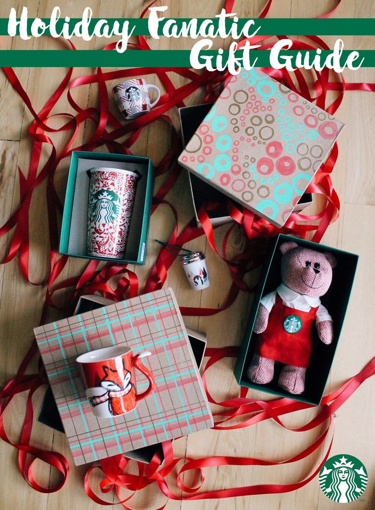 Don't forget about stocking stuffers! Bearista bears, red cup travelers, penguin ornaments and red fox mugs all fit under the tree as well. Whether it be for the coffee enthusiast or the budding coffee enthusiast, the full holiday collection is at store.starbucks.com.