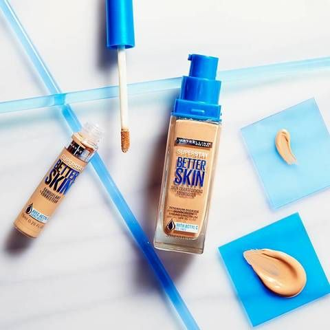 Maybelline's SuperStay Better Skin Concealer is a 2-in-1 targeted concealer and…