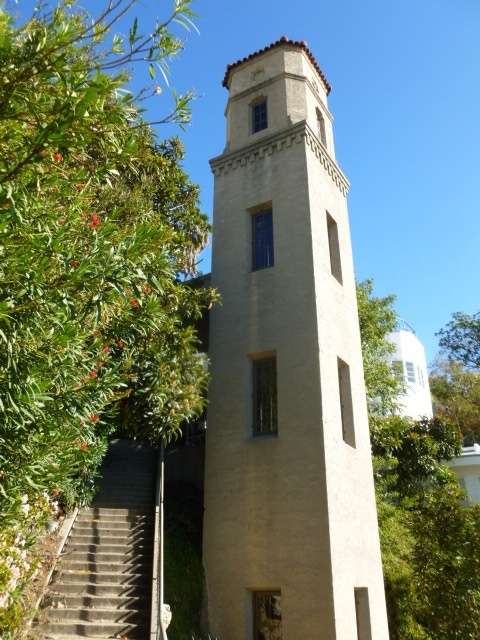 High Tower up close