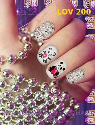 Pegatinas para uñas, un nuevo estilo de decorar las uñas, unidad con 12 diseños 4x4se aplica en cima del esmalte blanco semi seco y finaliza con un top coat, la decoración estará lista.