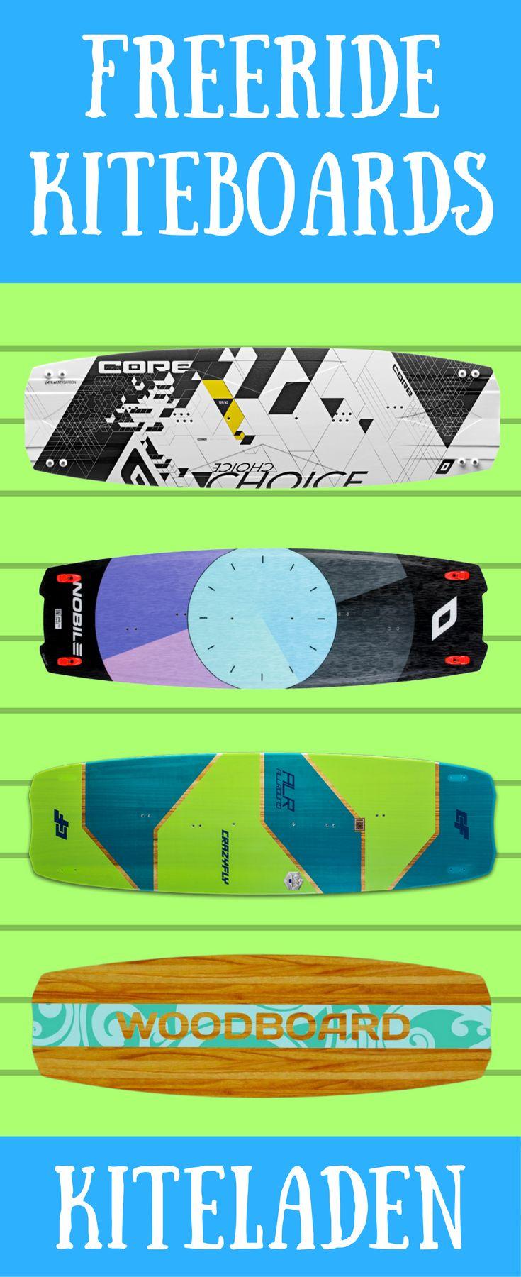 Hier findest du jede Menge Freeride Kiteboards von verschiedenen Herstellern. Finde dein perfektes Kiteboard und bestelle einfach und schnell im online Kiteshop. #kiteboard  #kitesurf #kiteshop