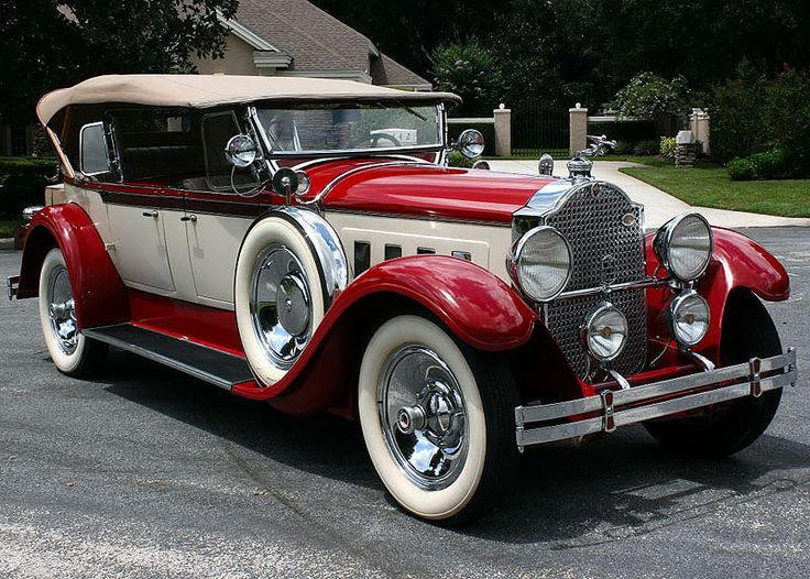 1929 Packard 640 Dual Cowl | MJC Classic Cars | Pristine Classic Cars For Sale - Locator Service