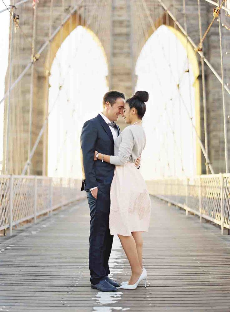 wedding ceremony new york city%0A Chic Elopement in New York City