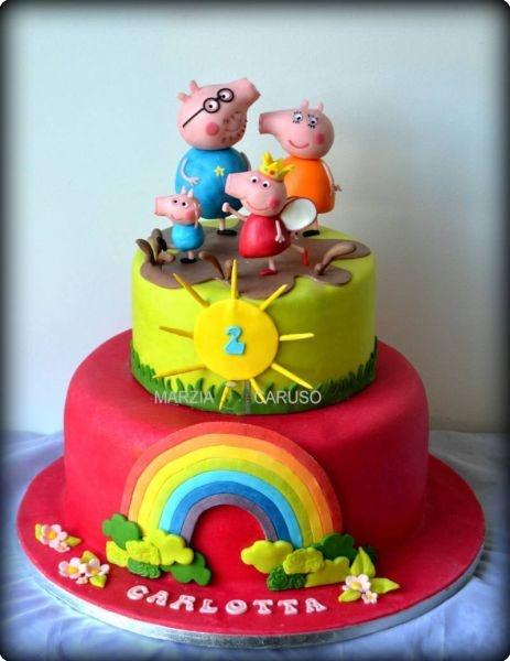 Peppa Pig - Cake Design