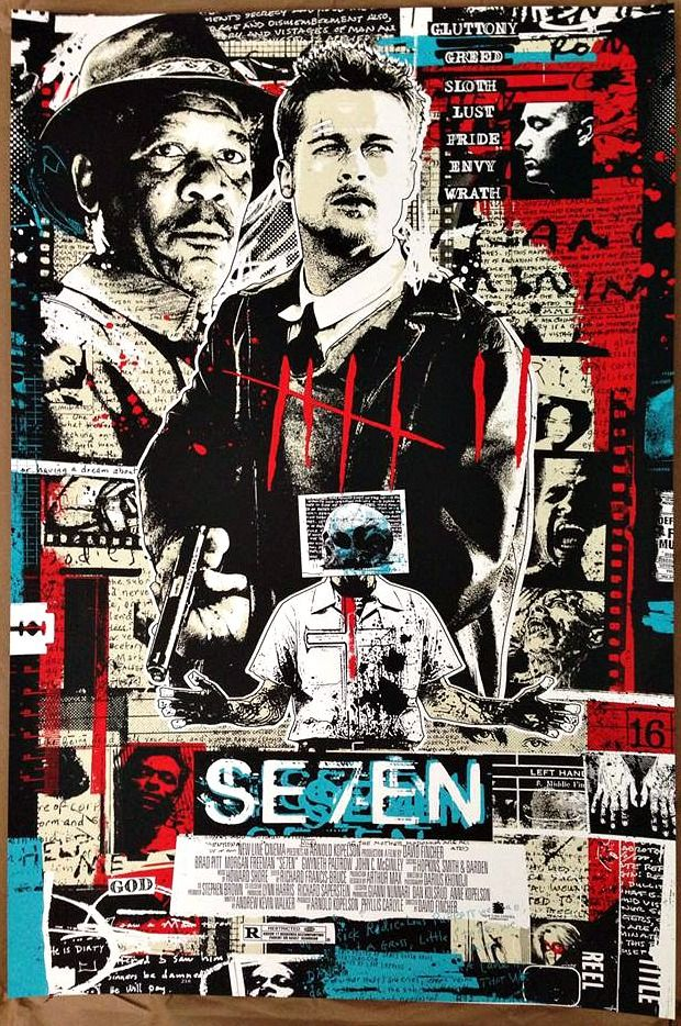 se7en by james rheem davis (ed of 50)
