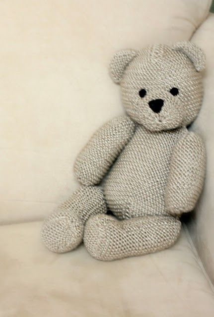 Like to free tutorial for Knit Bear http://www.ravelry.com/patterns/library/teddy-bear-3