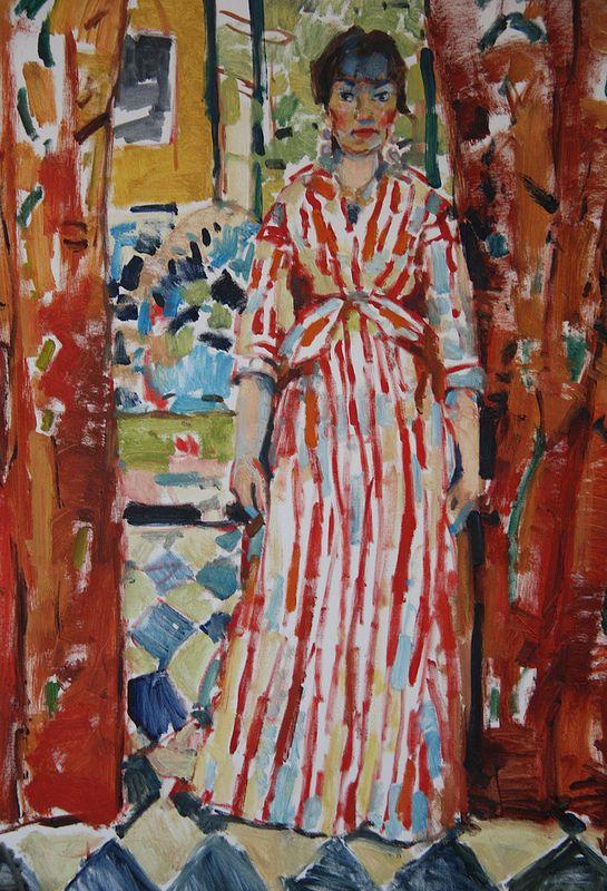 Rik Wouters (1882-1916) - Rode gordijnen, (1913)