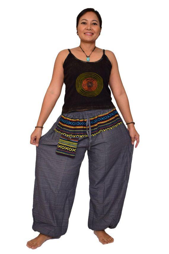 S-XXL New straight pants aladdin pants genie by FANZYDESIGN