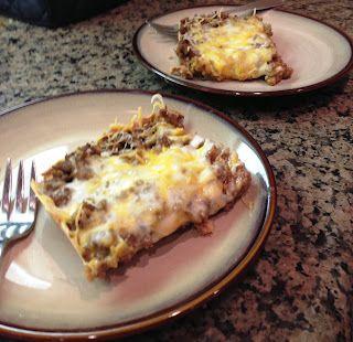 Weight watchers Burrito Bake