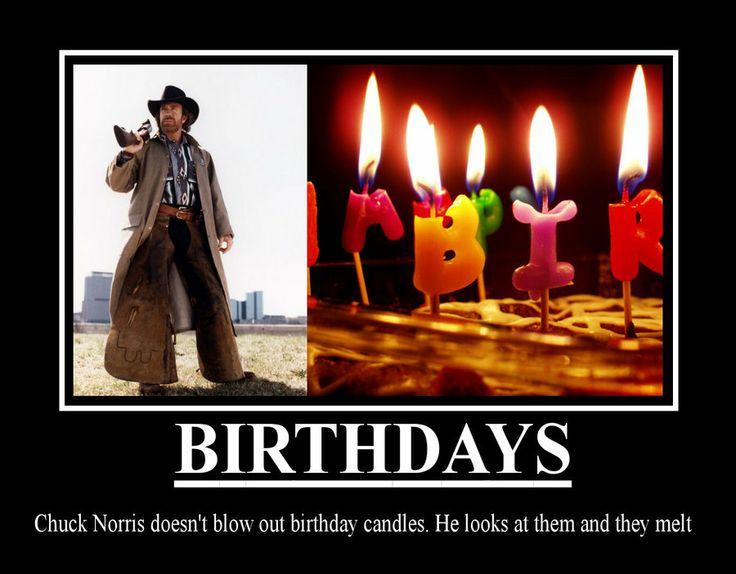 Thursday March 9th Open Thread – Chuck Norris Birthday Card