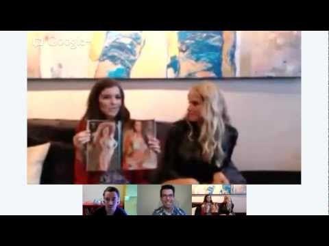 Hangout with Genevieve Morton & Natasha Barnard - http://maxblog.com/9498/hangout-with-genevieve-morton-natasha-barnard/