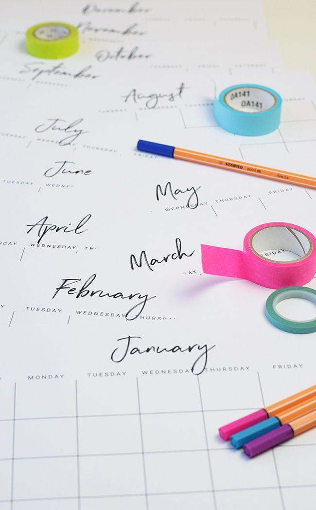 Best 25+ Free printable calendar ideas on Pinterest Free - free printable calendar