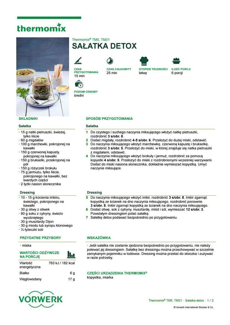 Salatka detox