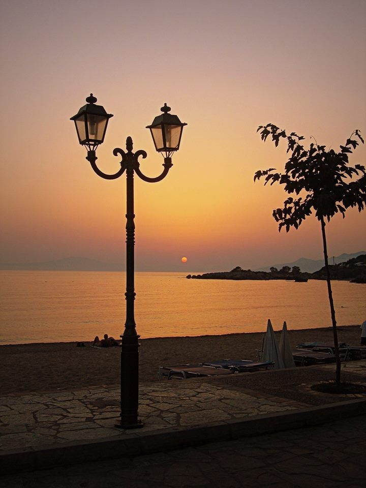 Magic sunset at Stoupa.. Messinian Mani.